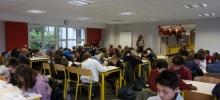Les collégiens de l'Interparoissial et le « Big challenge »
