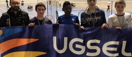 Les élèves de l'Interparoissial se distinguent au championnat UGSEL de badminton