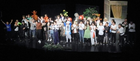 Les collégiens de l'Interparoissial «se donnent en spectacle»