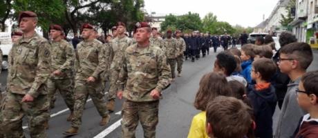Commémoration du 07 juin à Saint-Lô