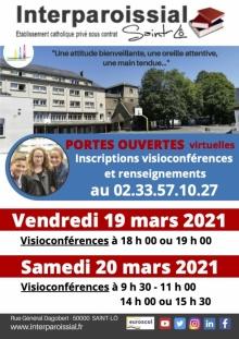 Portes Ouvertes Rentrée 2021 (Visio)