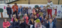 Les élèves de GS/CP à la rencontre des arbres en ville