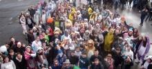 Les collégiens de l'Interparoissial fêtent Mardi gras