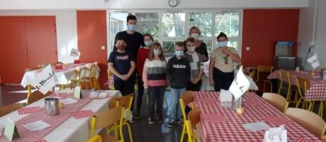 Animation gastronomique sur la Normandie au collège Interparoissial