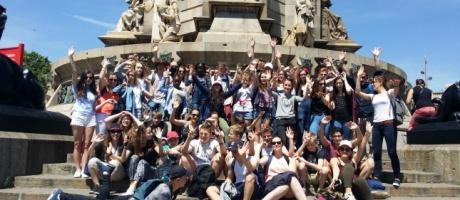 Des collégiens de l'Interparoissial en Espagne