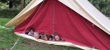 Les 5èmes du collège Interparoissial en séjour d'activités pleine nature